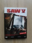 SAW V 5 (Limited UNRATED DVD Collector´s Edition Mediabook)