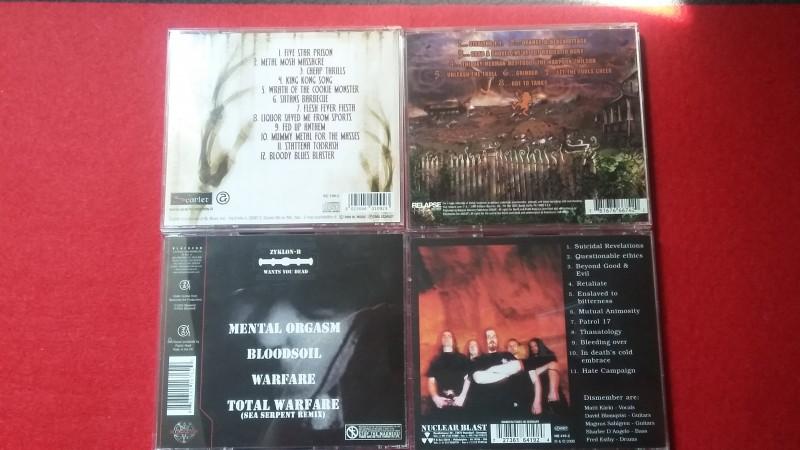 Dismember / Zyklon-B / Terror 2000 / Rumpelstiltskin Grinder