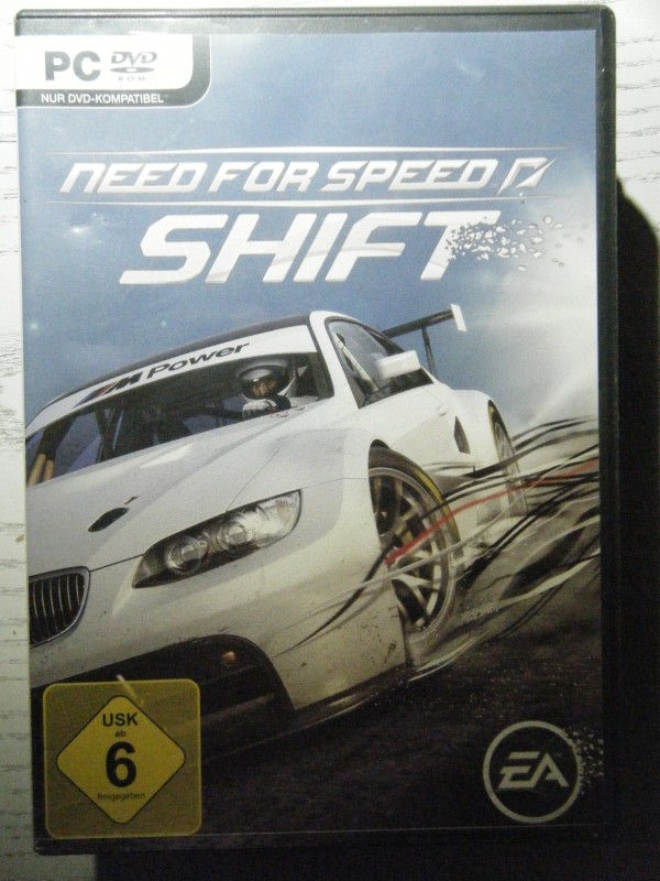Need for Speed SHIFT PC-DVD EA
