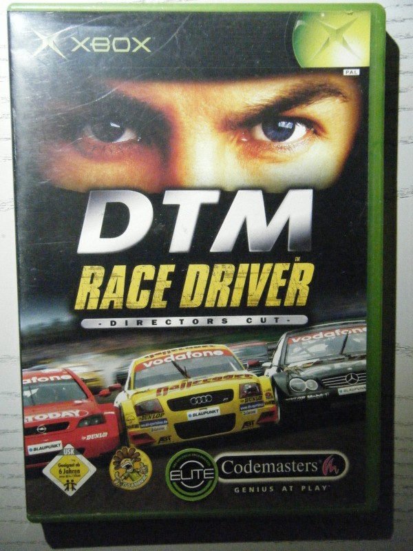 DTM Race Driver Director´s Cut XBOX Codemasters