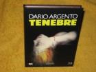 Tenebre - Mediabook XT - Dario Argento - Wie NEU - BR+DVD