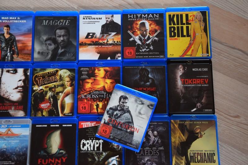 Blu Ray Horror Uncut Sammlung - 31 Top Filme