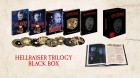 HELLRAISER TRILOGY BLU-RAY TURBINE MEDIABOOK BLACK BOX TOP