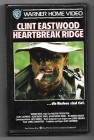 Clint Eastwood, HEARTBREAK RIDGE, Vhs