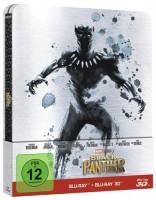 Black Panther (Limitiertes Steelbook) - (3D Blu-Ray+2D) NEU
