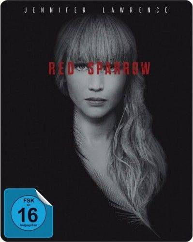 Red Sparrow -Jennifer Law Steelbook Limitiert Blu-Ray - NEU