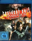 RESIDENT EVIL - DAMNATION Blu-ray - Animated Movie CG