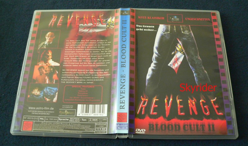 Revenge - Blood Cult 2 -  DVD - von Astro