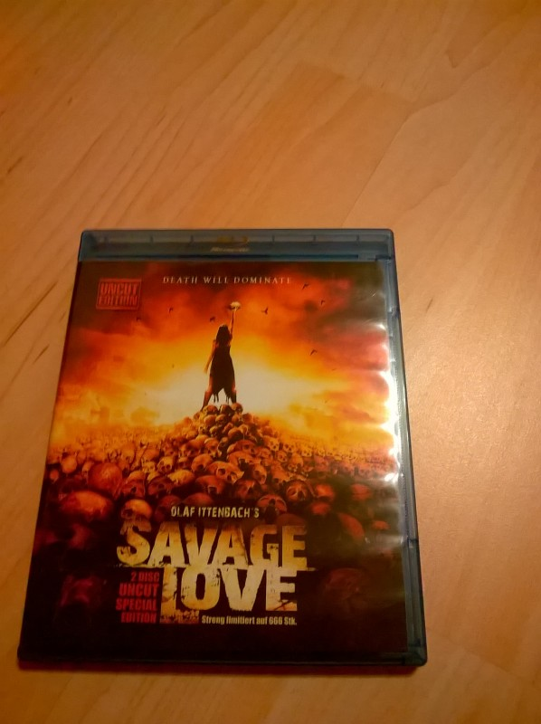 Savage Love-UNCUT-Blu-ray