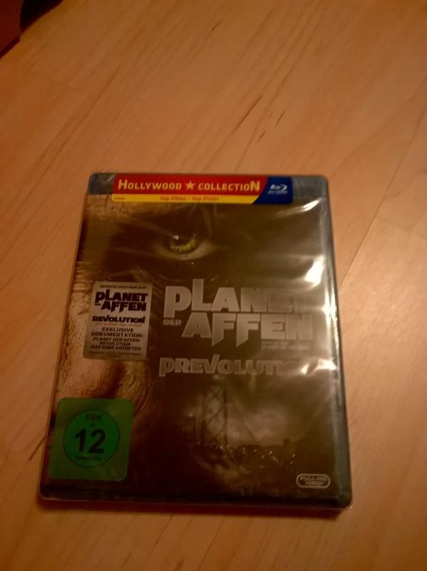 Planet der Affen - Prevolution-Blu-ray
