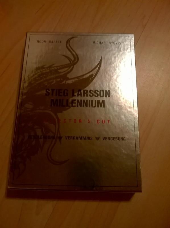 Stieg Larsson-Millennium Trilogie-Director's Cut-DVD