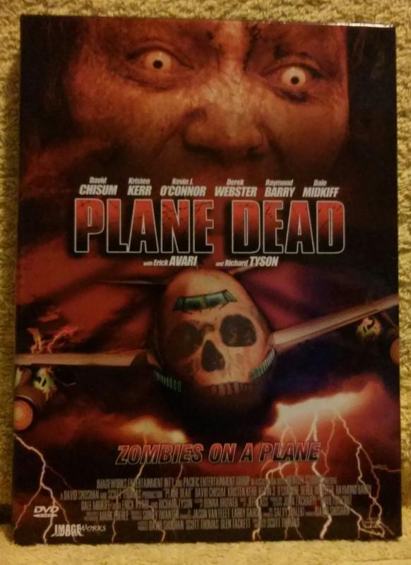 Plane Dead Zombies on a Plane DVD
