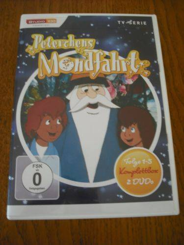 PETERCHENS MONDFAHRT - 1990 - Serie - Anime - 2 DVD-Box
