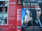 Killer Instinct ... Charles Napier ...  VHS ... FSK 18