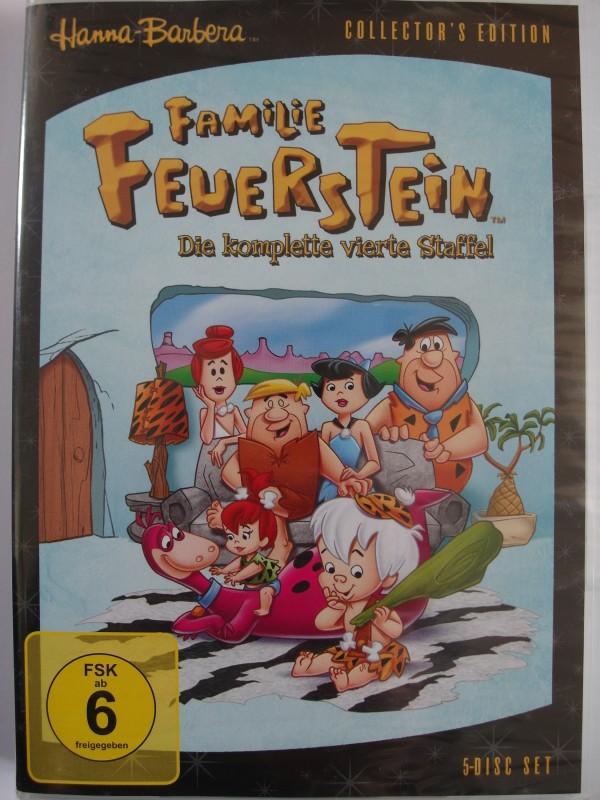 Familie Feuerstein - 4. Staffel - Hanna Barbera - Steinzeit