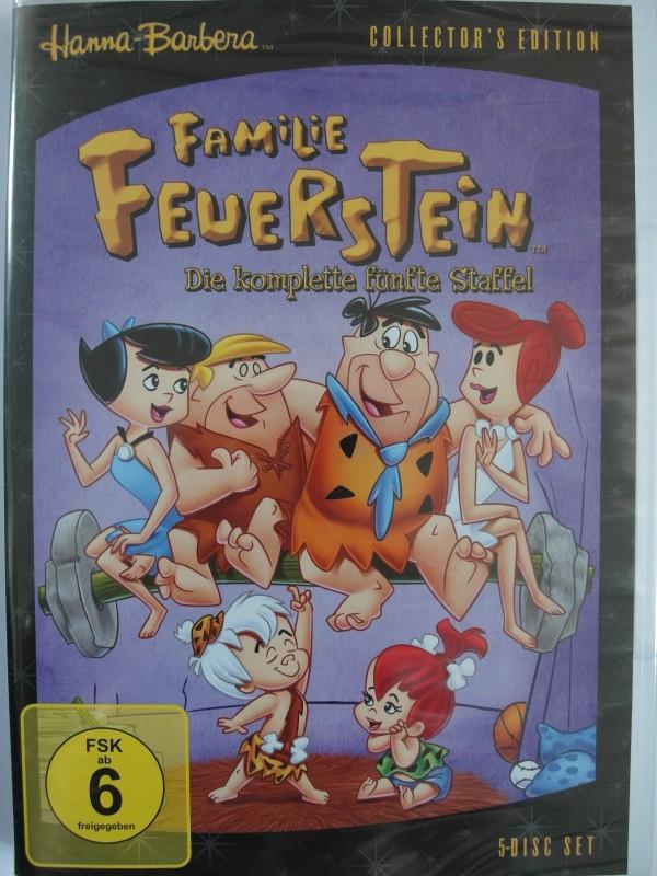 Familie Feuerstein - 5. Staffel - Hanna Barbera - 5 Disc