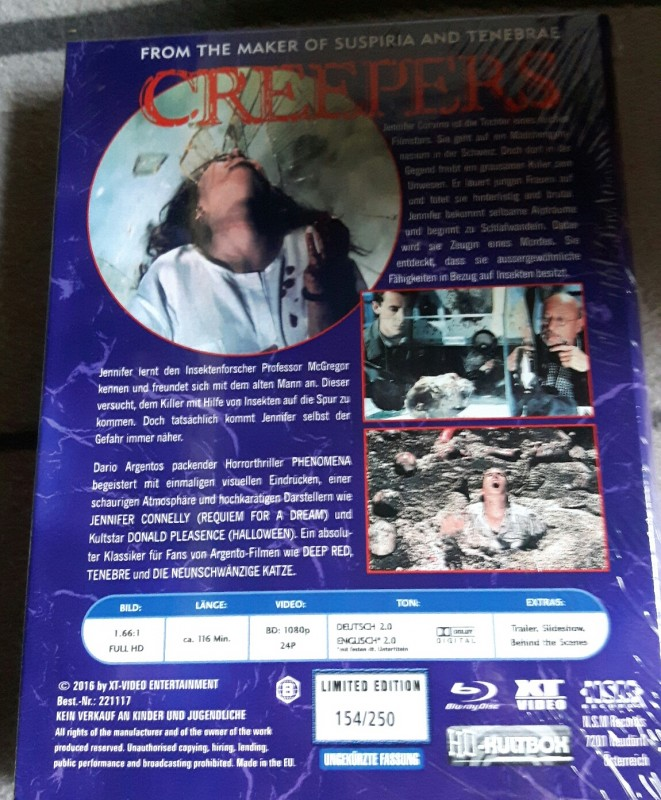 XT-Video Kultbox Creepers (Phenomena) Hartbox rar oop
