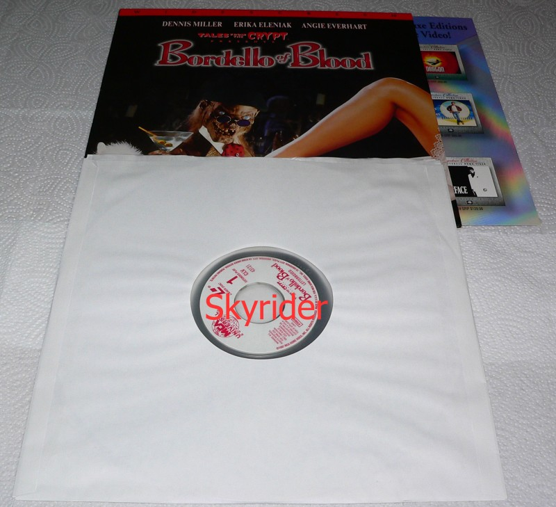 Tales from the Crypt - Bordello of Blood Laserdisc