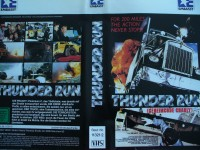 Thunder Run ... Forrest Tucker, John Ireland ... VHS