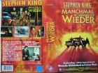 Stephen King´s  Manchmal kommen Sie wieder  ...  VHS