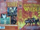Stephen King´s  Manchmal kommen Sie wieder 2 ...  VHS FSK 18
