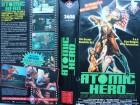 Atomic Hero ... Mitchell Cohen, Pat Ryan jr ...  VHS  FSK 18