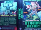 Atomic Hero 2 ... Ron Fazio, Phoebe Legere  ...  VHS  FSK 18