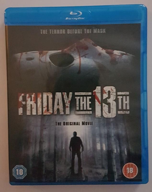 Freitag der 13 das Original Uncut Blu Ray