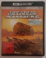 The Texas Chainsaw Massacre das Original 4k Uncut Blu Ray