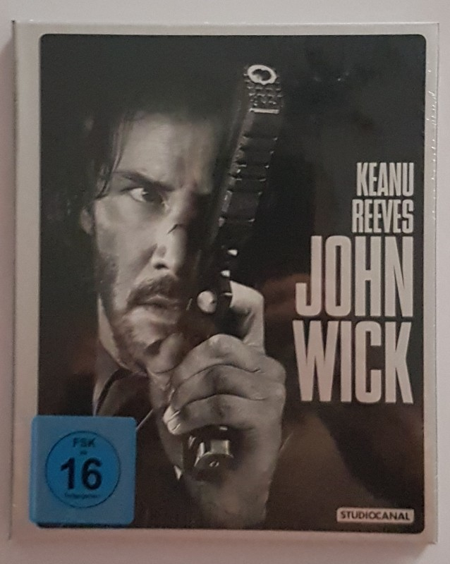 John Wick Mediabook NEU Uncut
