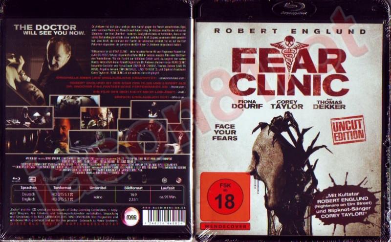 Fear Clinic Uncut Edition Blu Ray Neu Ovp Robert Englund Kaufen