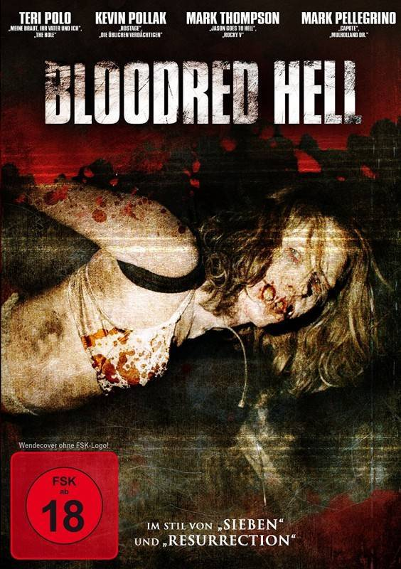 Bloodred Hell DVD OVP