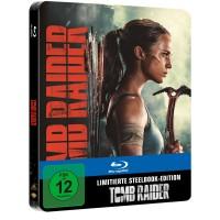 Tomb Raider 2018 - Limited Steelbook Blu-ray NEU