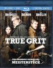 TRUE GRIT Blu-ray + DVD Coen Bros. Jeff Bridges Matt Damon