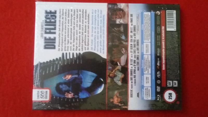Die Fliege Mediabook! OOP! David Cronenberg! RAR! Neu + OVP!