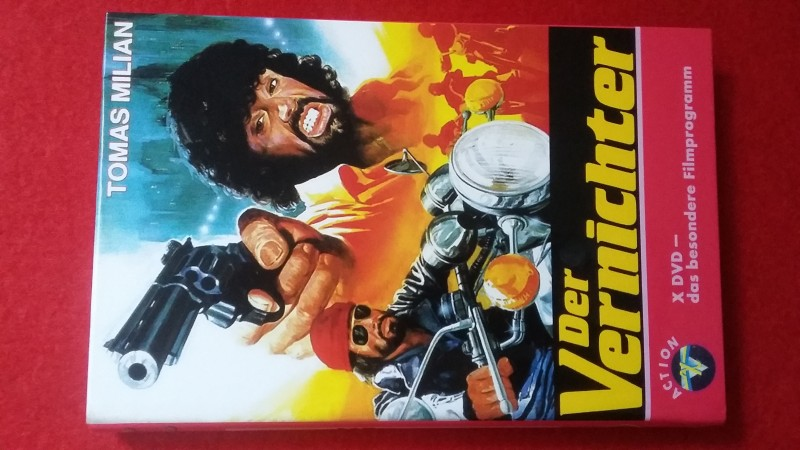 Der Vernichter! Hartbox -7! Tomas Milian! Umberto Lenzi!