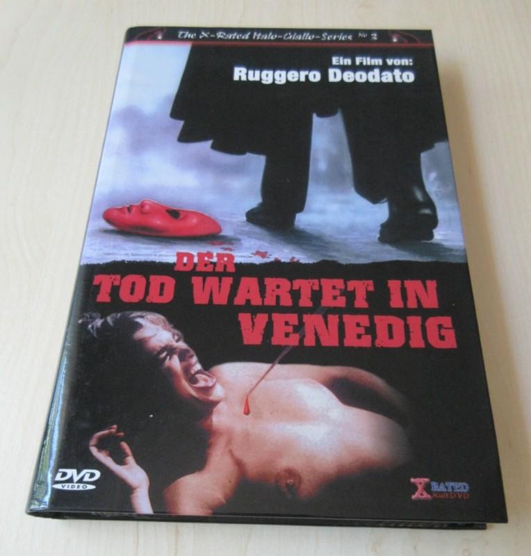 Der Tod wartet in Venedig - Gr. Hartbox