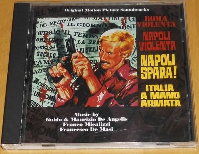 Roma Violenta Napoli Violenta Napoli Spara OST Soundtrack-CD