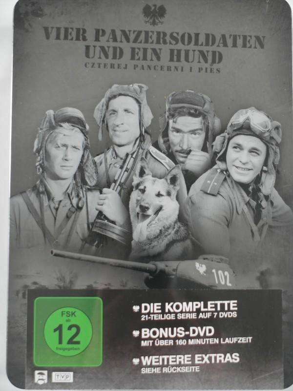 Vier Panzersoldaten und ein Hund - Silver Edition T- 34