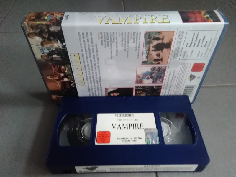 Vampire - John Carpenter - James Woods  VCL Video