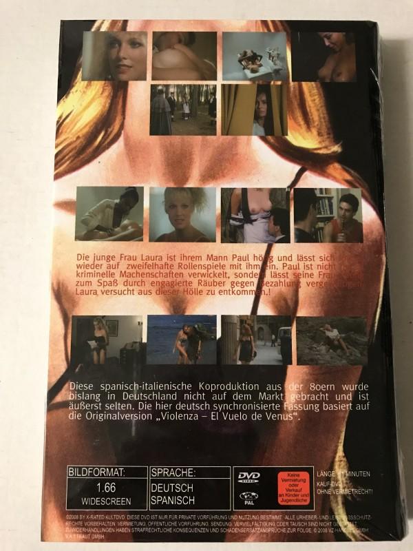 Violenza - Objekt der Begierde- X-Rated gr. Hartbox DVD OVP