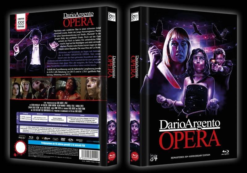 Opera - D. Argento - Mediabook - 4 Disc - lim. 555 - NEU/OVP