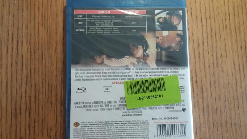 Codename: Nina [Blu-ray] Bridget Fonda, G. Byrne NEU & OVP