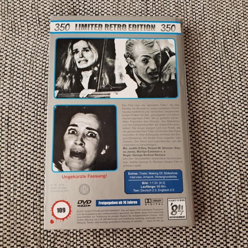 DIE NACHT DER LEBENDEN TOTEN 84 ER HB HARTBOX  DVD GROSSE