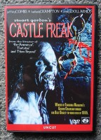 Stuart Gordon Castle Freak UNCUT  Horror DVD