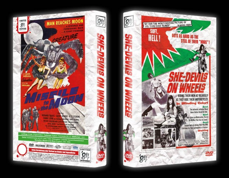 She-Devils on Wheels (Gr. Hartbox '84) NEU ab 1€