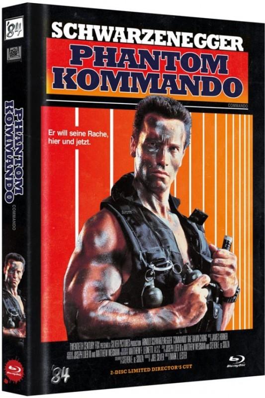 Phantom Kommando - Mediabook D (Blu Ray+DVD) 84 NEU/OVP