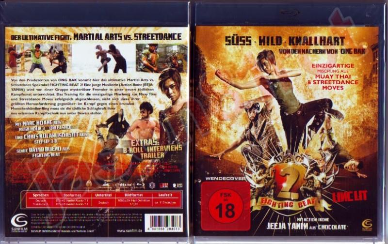 Fighting Beat 2 / Blu Ray NEU OVP uncut