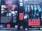 Die wahren Bosse ... Christian Slater ... VHS ...  FSK 18