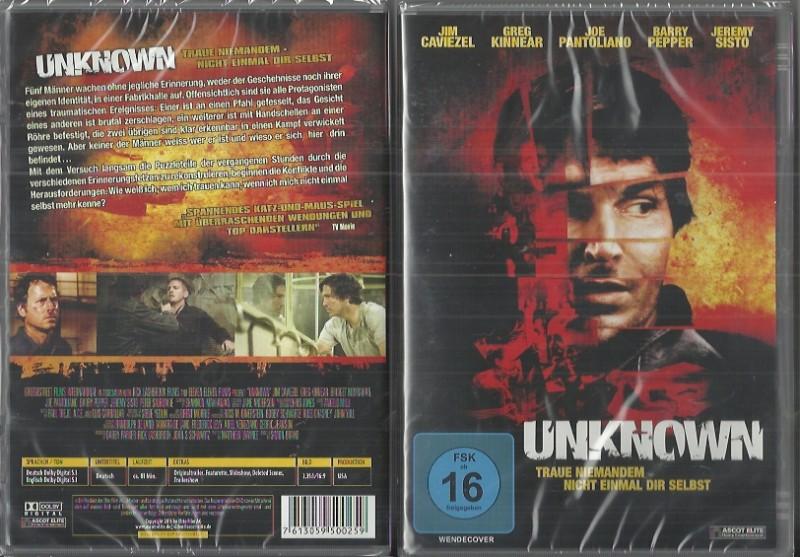 Unknown - Jim Caviezel(5004541 Neu Konvo91)